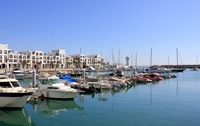 The port of Agadir
